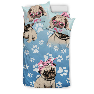 Pug Love Bedding Set