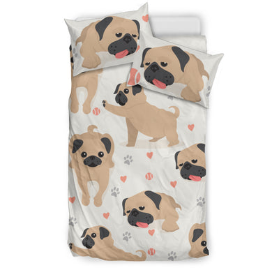 High Five Pug Bedding Set