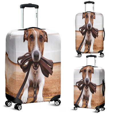Jack Russell Luggage Cover