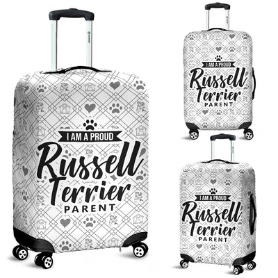 Jack Russell Terrier Proud Parent Luggage Cover