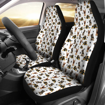 German Shepherd Car Seat Covers (Set of 2)