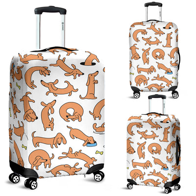 Dachshund Luggage Covers