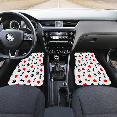 Dog Love Front Car Mats