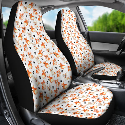 Welsh Corgi Car Seat Covers (Set of 2)