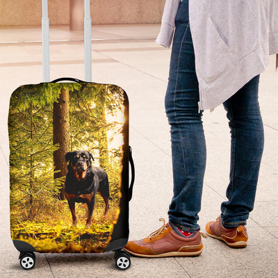 rottweiler luggage cover