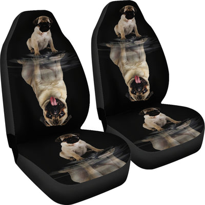 Dream Pug Car Seat Cover