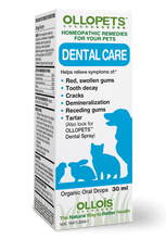 Load image into Gallery viewer, Ollopets Dental Care - Homeopathic Remedy for Pets