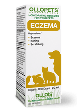 Load image into Gallery viewer, Ollopets Eczema - Homeopathic Remedy for Pets
