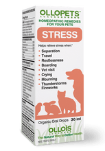Load image into Gallery viewer, Ollopets Stress - Homeopathic Remedy for Pets