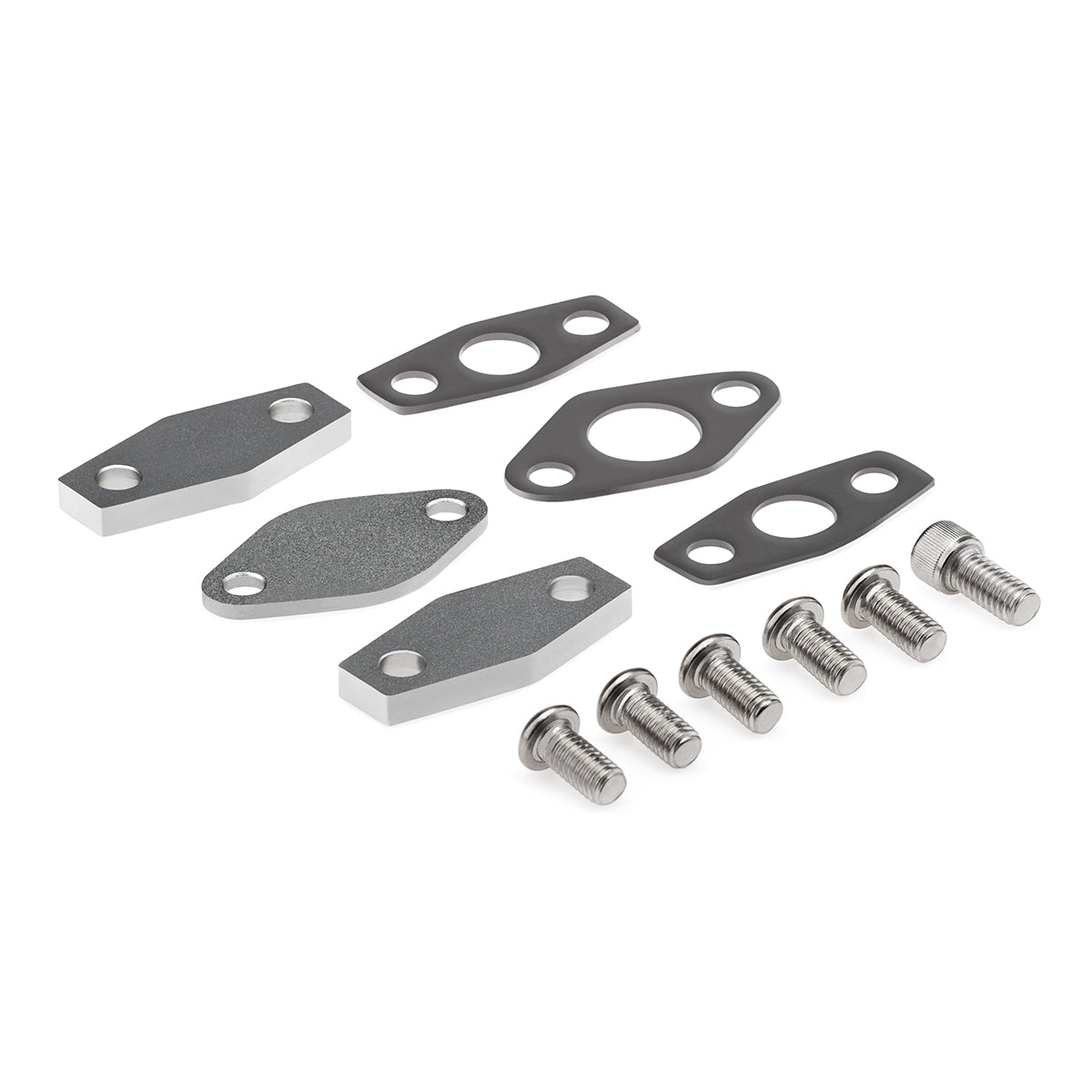1998-2000 Chevy Camaro LS1 EGR Block Off Plates + Air Smog Delete Kit-Block Off Plate-Blackpathinc