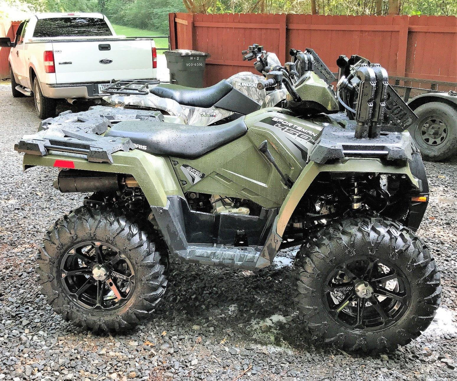2002 2010 polaris sportsman 500 2 full lift kit. Black Bedroom Furniture Sets. Home Design Ideas