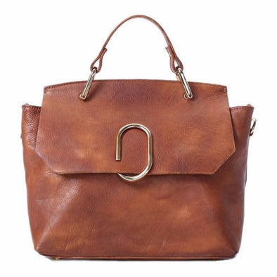 Handmade handbag, superior full grain cowhide leather, crazy horse leather, handmade bag, leather bag,