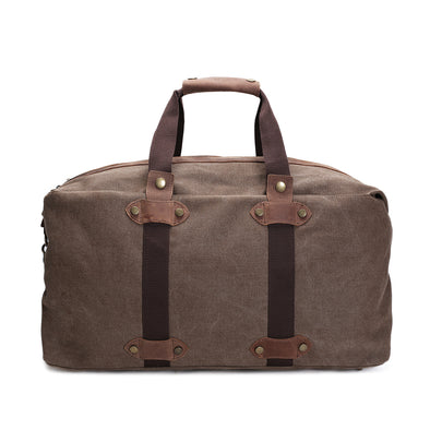 Duffle Bag, cow leather bag, travel bag, canvas bag, Waxed canvas bag,  Men bag, Women Bag, Waxed Canvas, Duffel Bag, Luggage Bag