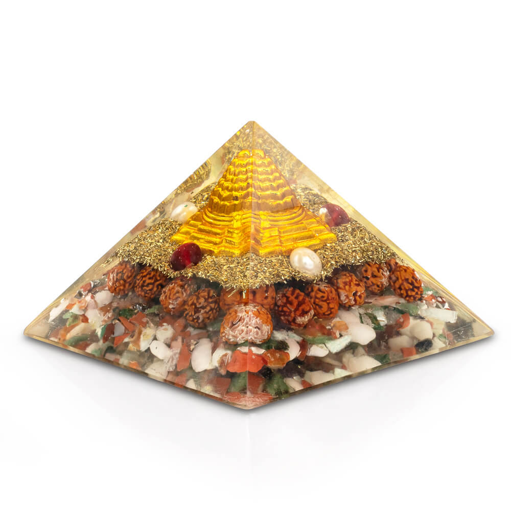 Wealth Attraction Orgone Pyramid
