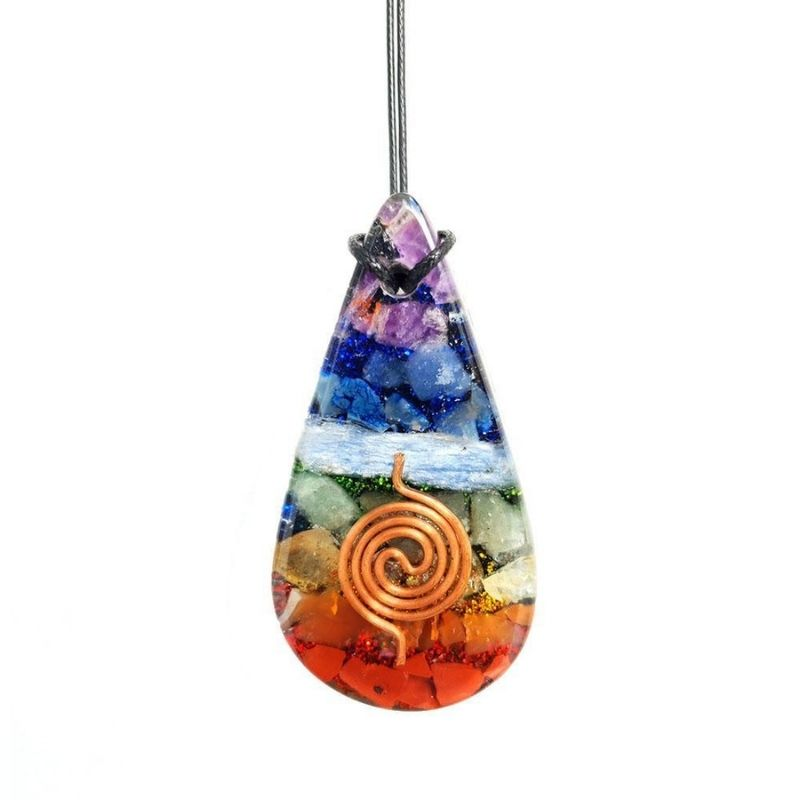 Chakra Orgone Necklace (Free Gift Included)
