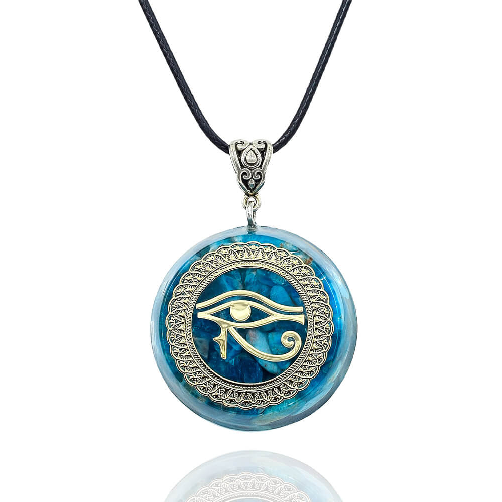 Horus eye Kyanite Necklace