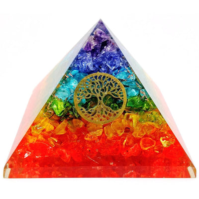 Tree of Life Orgone Pyramid - Vinaya