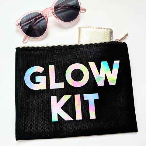 Glow Kit Cosmetic Bag