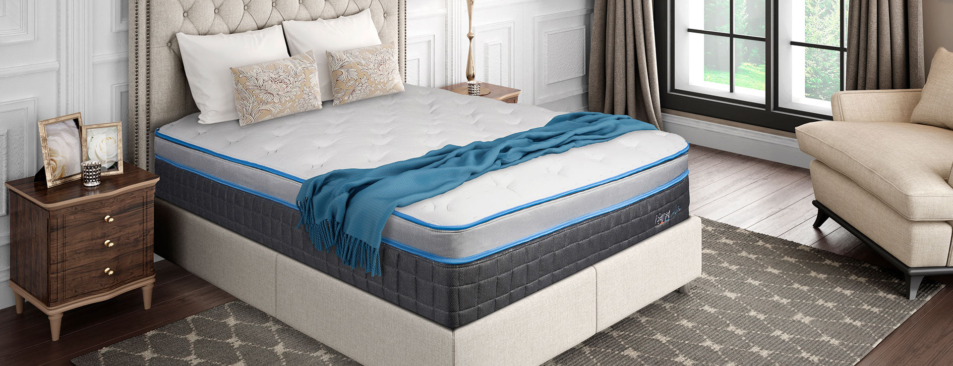 COMFORT CONTROL Air Mattress - King Split