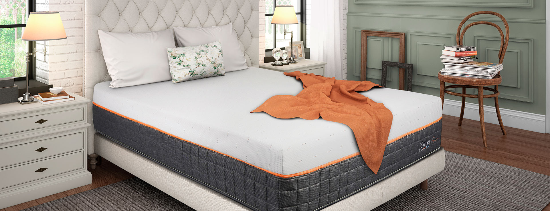 COMFORT CONTROL Foam Mattress - California King Flex Head