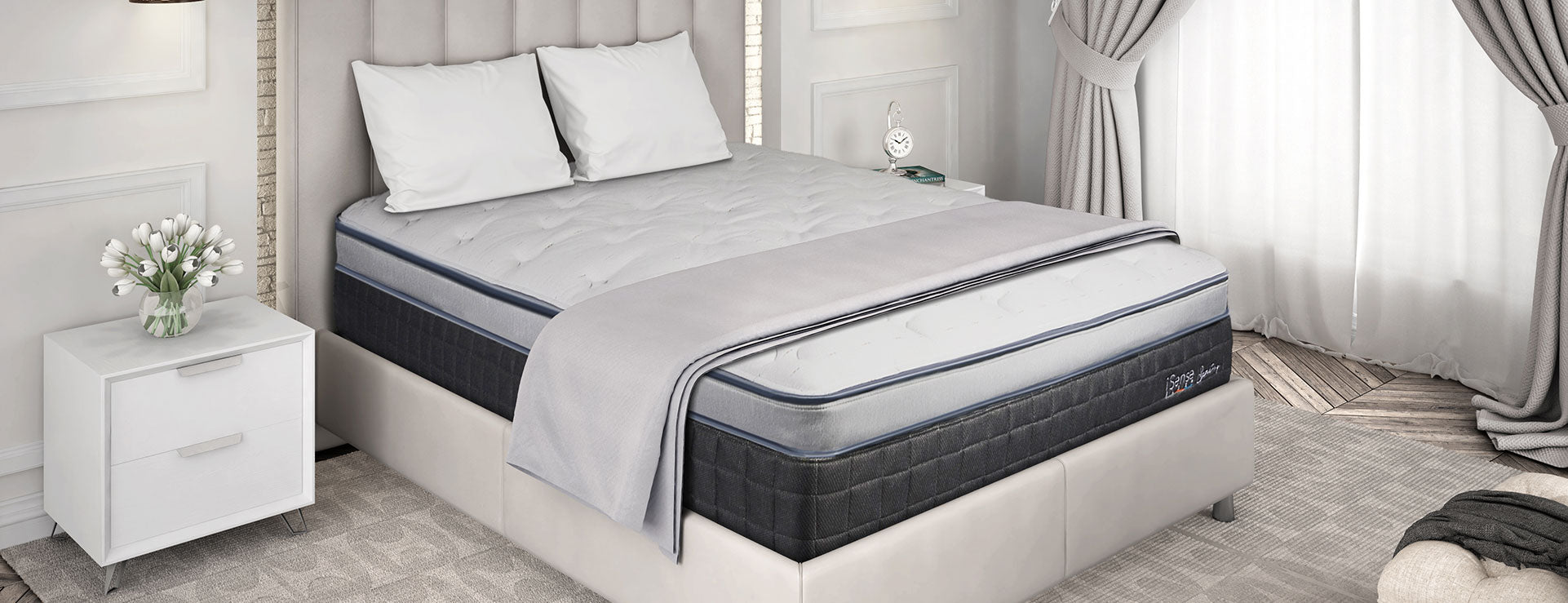 COMFORT CONTROL Spring Mattress - California King Split