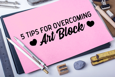 Sugarbones: 5 Tips for Overcoming Art Block