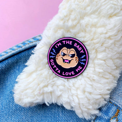 I'm the Baby Enamel Pin