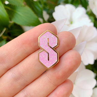 Cool S Enamel Pin