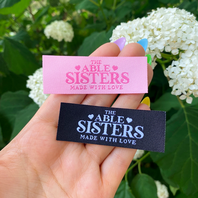 Able Sisters Woven Tag patch