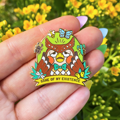Bane of my Existence Enamel Pin
