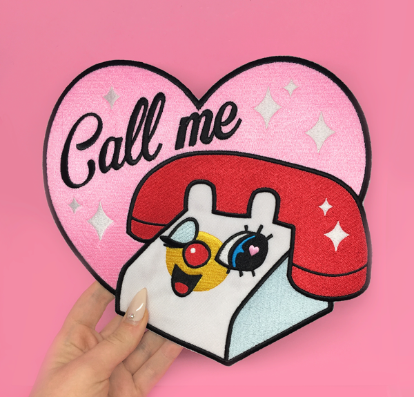 Call Me ♡ Back Patch ♡
