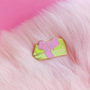Cute Stacks Enamel Pin