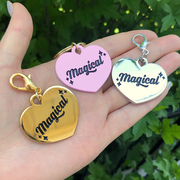 Magical Pet Collar Charms