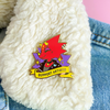 Support Artists Enamel Pin