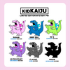 KID KAIJU Mystery Pins