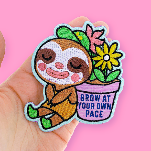 Grow At Your Own Pace Patch
