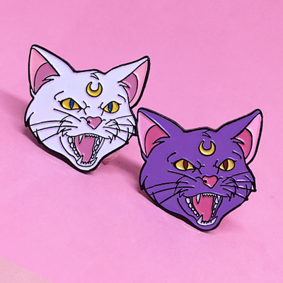 Fighting Evil & Winning Love ♥ Enamel Pin