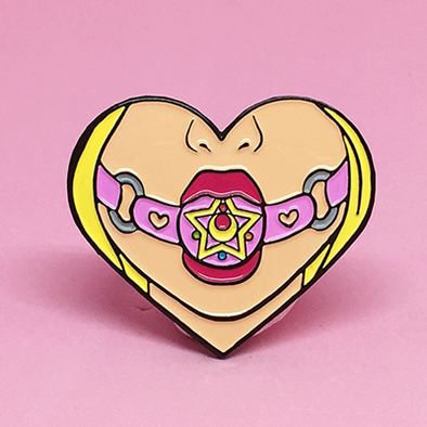 I Will Punish You Enamel Pin