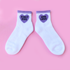 Fight Evil Win Love Socks