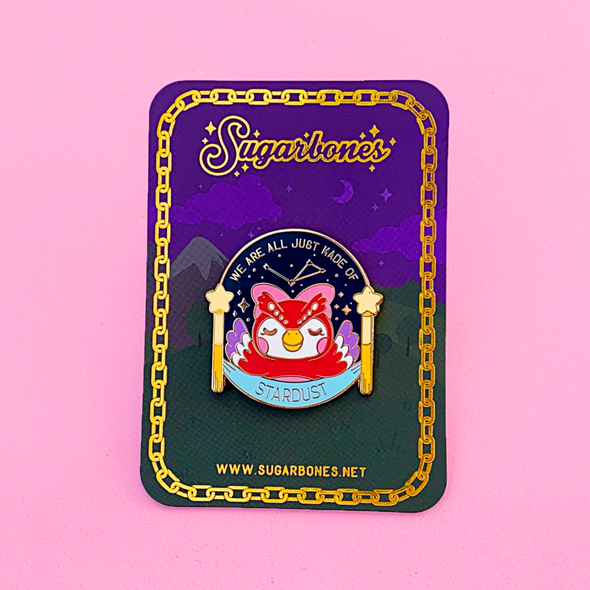 Made of Stardust Enamel Pin