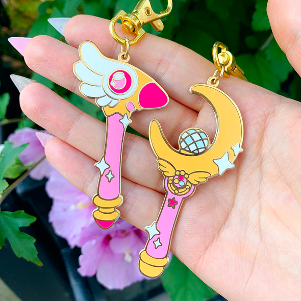 Magic Wand Charms