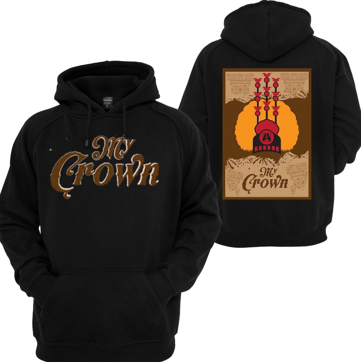 My Crown Hoodies