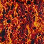 Abstract Hydrographics Film - Classic Flames, Hydrographics film - Dipology Hydrographics