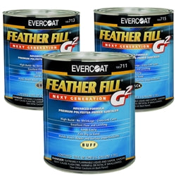 Feather Fill G2 By EVERCOAT  Polyester Primer Surfacer, 1 Quart, Hydrographics Paint Supplies - Dipology Hydrographics
