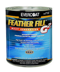 Evercoat 713 Gray Feather Fill G2 Primer; 1 Gallon, Hydrographics Paint Supplies - Dipology Hydrographics
