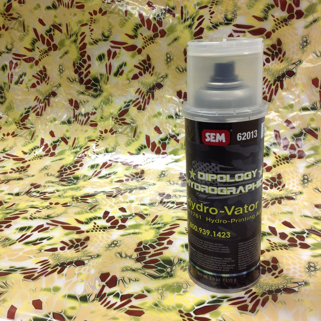 DESERT TEK 3 Meter Pro Kit with Aerosol Activator, Hydrographics film - Dipology Hydrographics