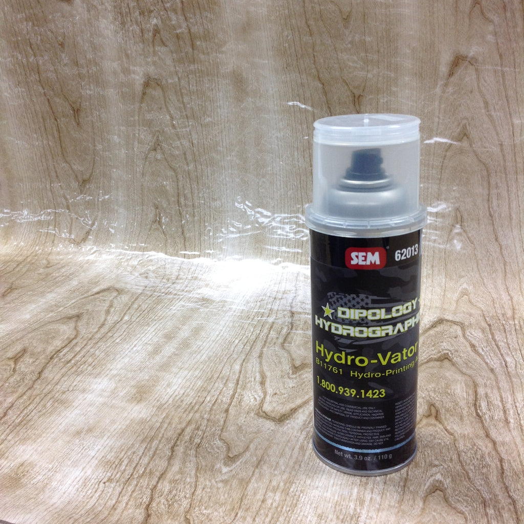 SANDY WOOD 3 Meter Pro Kit with Aerosol Activator, Hydrographics film - Dipology Hydrographics