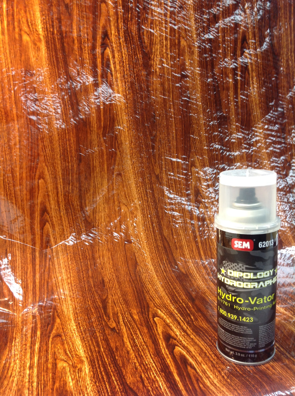 CLASSIC WOODGRAIN 3 Meter Pro Kit with Aerosol Activator, Hydrographics film - Dipology Hydrographics