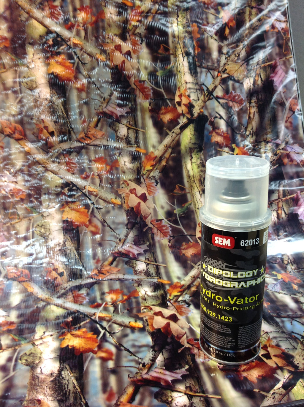 HD AUTUMN 3 Meter Pro Kit with Aerosol Activator, Hydrographics film - Dipology Hydrographics