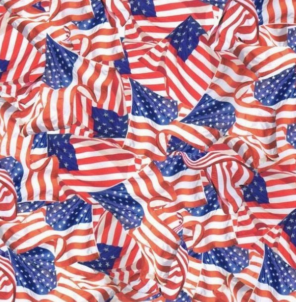 Abstract Hydrographics Film - US Flag, Hydrographics film - Dipology Hydrographics